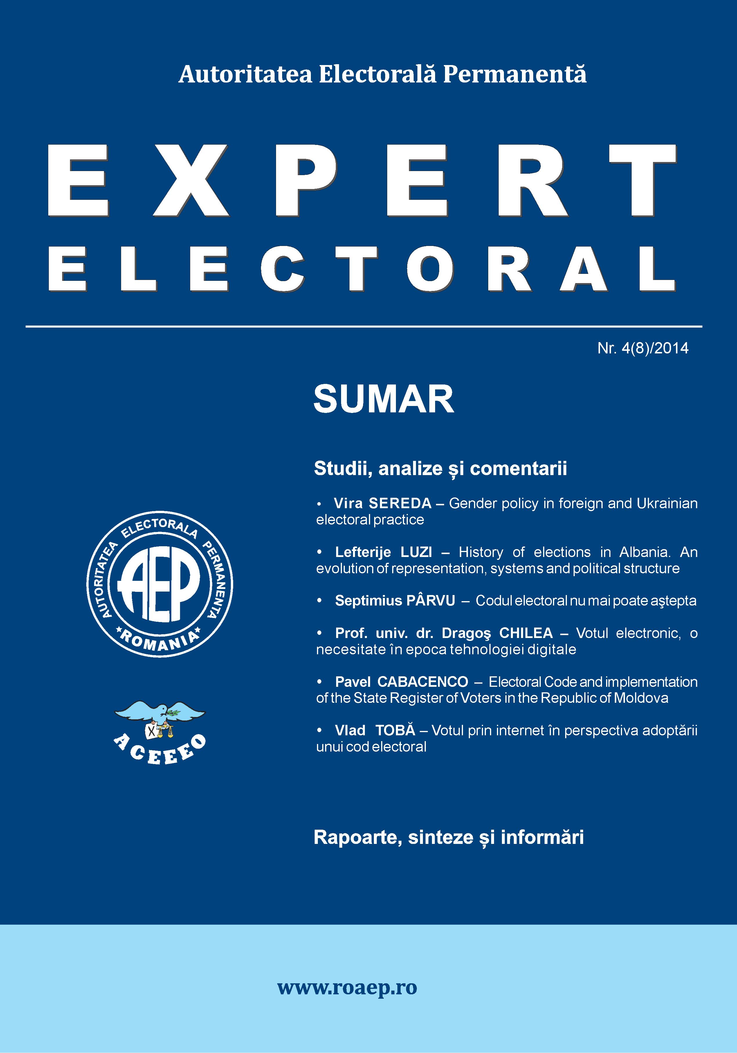 electoral expert