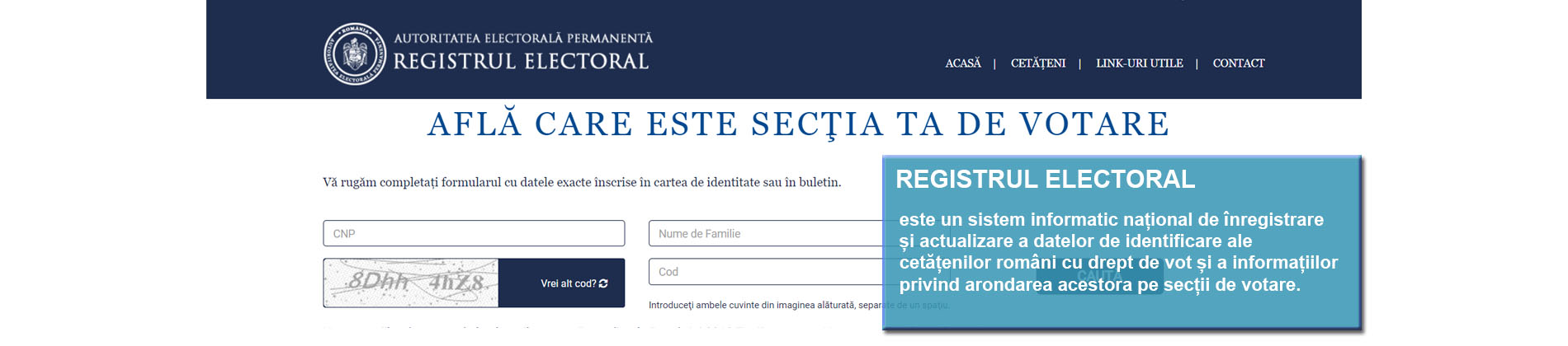 Registrul electoral