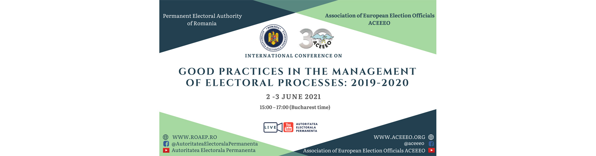 Good practices in the management of electoral processes: 2019-2020